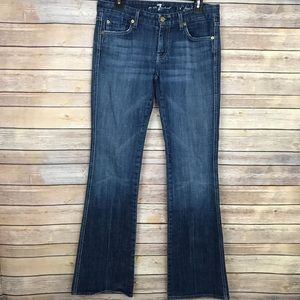 "Seven For All Mankind ""A"" Pocket Flare Denim Jeans"